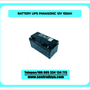BATTERY PANASONIC 100AH