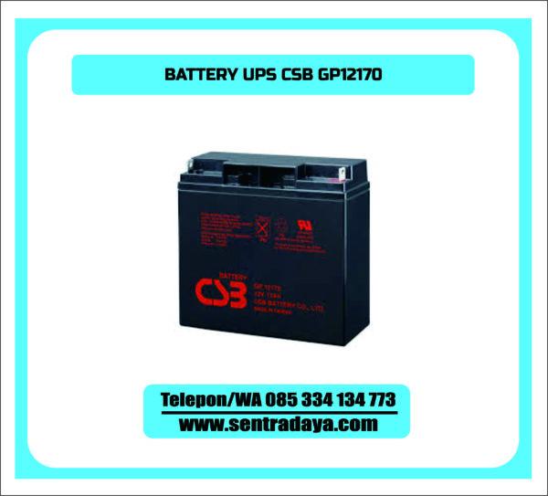 BATTERY UPS CSB GP12170