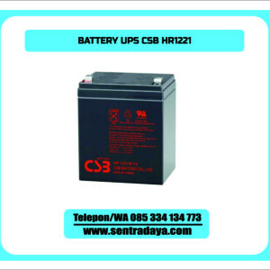 BATTERY UPS CSB HR1221