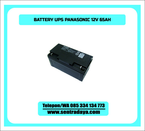 BATTERY PANASONIC 65AH