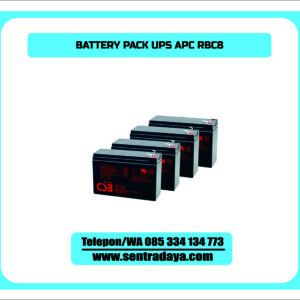 BATTERY PACK UPS APC RBC8