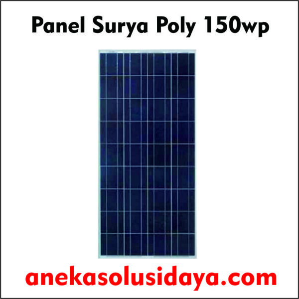 panel surya 150wp poly