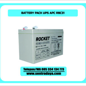 BATTERY PACK UPS APC RBC31