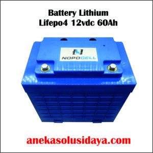 battery lithium lifepo4 12vdc 60ahh